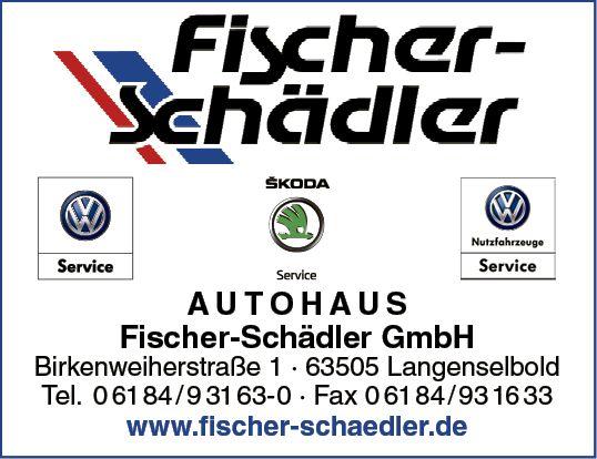 Logo Autohaus Fischer-Schädler GmbH