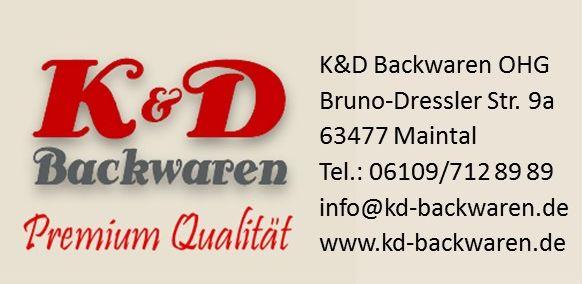 Logo K&D Backwaren OHG