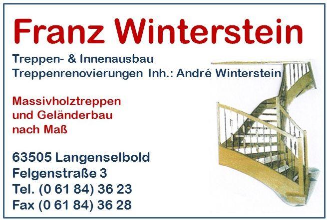 Logo Schreinerei Franz Winterstein Inh. Andrè Winterstein